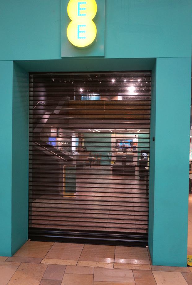 Commercial Security Shutters | EE