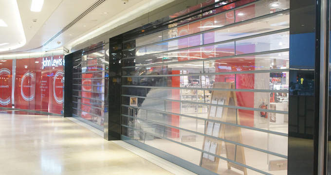 Commercial Security Shutters | John Lewis