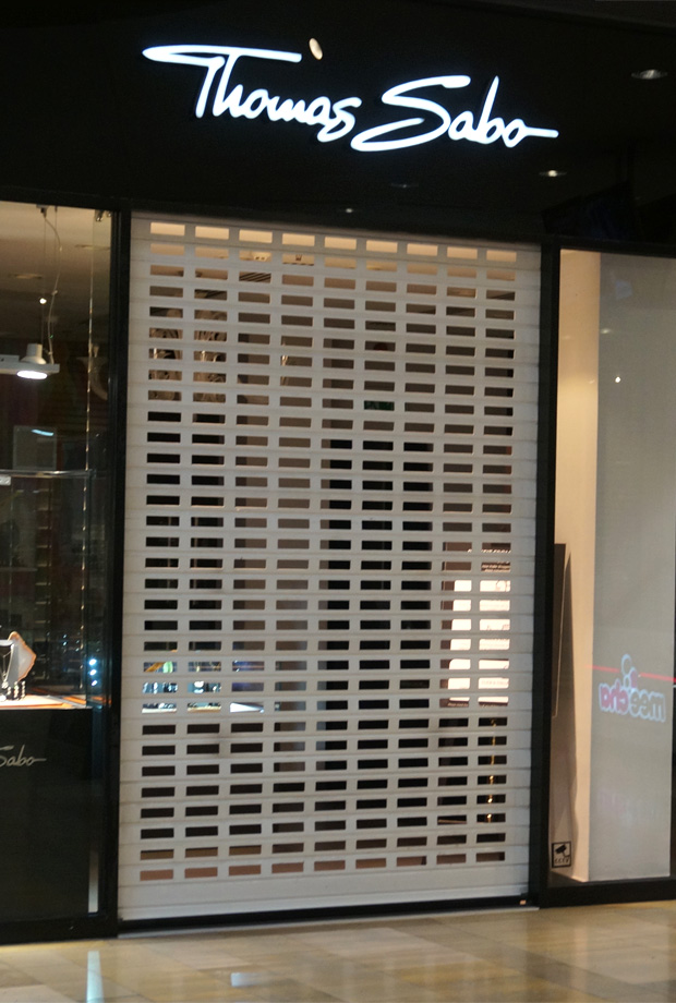 Commercial Security Shutters | Thomas Sabo
